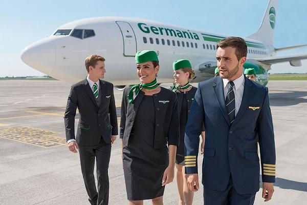 Germania volera vers Strasbourg, Maastricht et Montpellier depuis Palma de Majorque - Photo : Germania