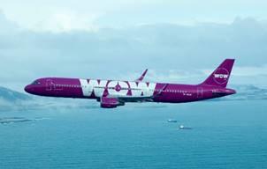 WOW Air augmente ses vols le Canada- Photo : WOW Air