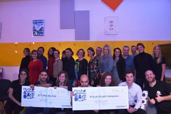 AmeriGO remporte un chèque de 2 000 € et Memento de 5 000 € - Photo : Club Med