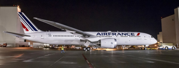 Le Boeing 787 d'Air France - DR Air France