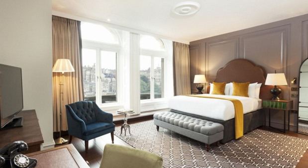 L'Hôtel Indigo Edinburgh – Princess Street compte 64 chambres - Photo : IHG