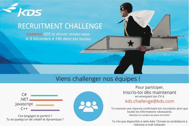 Cliquez sur l'image pour accéder au site KDS Carrières - DR