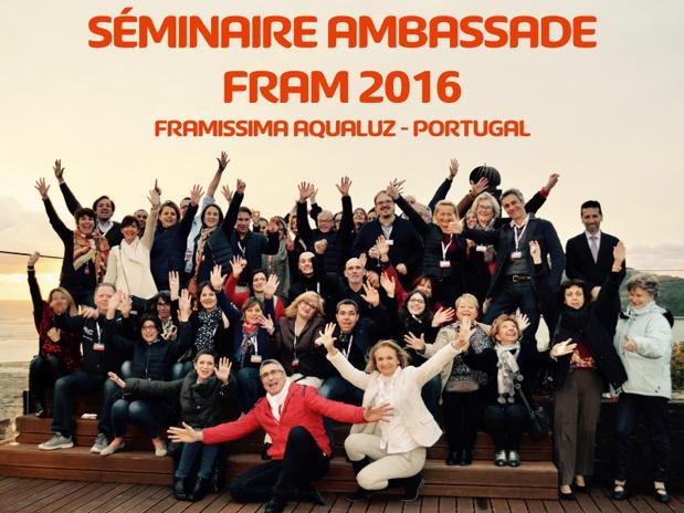 Le séminaire à Lisbonne a réuni 64 participants dont 46 représentants d'Ambassades FRAM - Photo FRAM
