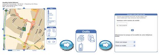 Choice Hotels : nouveau service de localisation par SMS