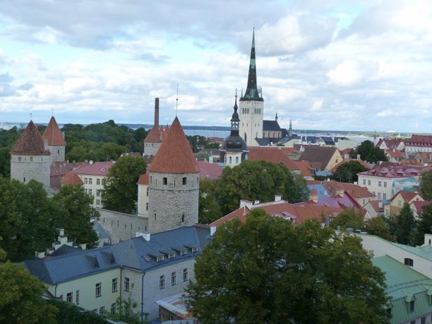 Tallin capitale de l'Estonie - Photo Consultourisme
