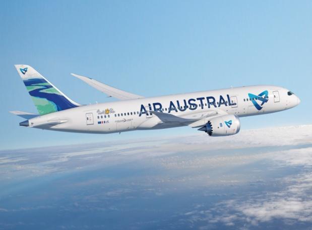 Air Austral n'a toujours pas d'investisseur privé. DR Air Austral.