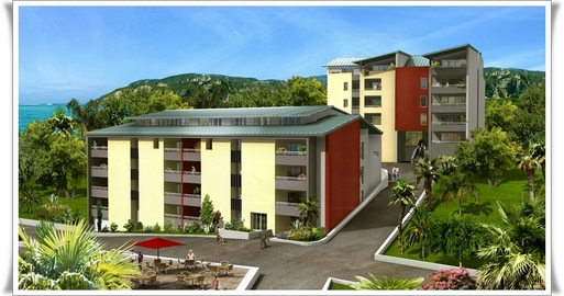 Les Portes du Lagon, l'un des deux projets de construction à Mayotte.