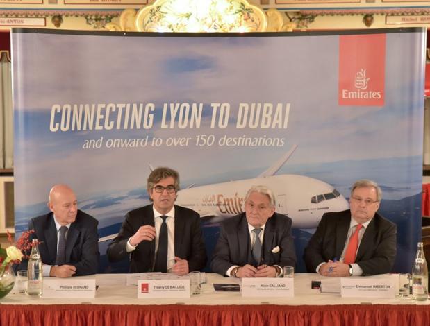 La conférence de presse d'Emirates - DR