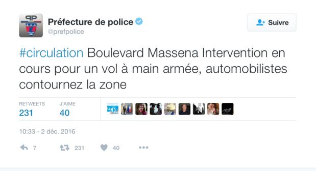 Tentative de cambriolage à l'agence Asieland à Paris