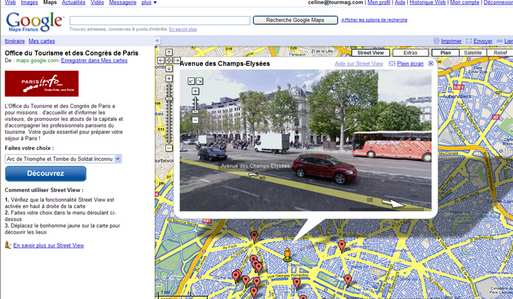 Google Maps : le ''Paris Monumental'' de Street View