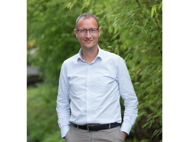 """Christophe Peymirat : """"Notre stratégie, c'est une plateforme globale associée à du service local. Nous faisons 90% de réservations online mais les 10% qui restent, c'est du gros volume et c'est là qu'est la valeur de service"""" - © L.Kahan"""