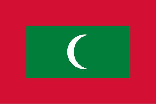 Drapeau des Maldives - DR : Wikipedia