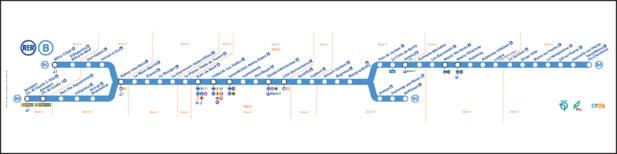 Le trafic du RER B subit actuellement des perturbations entre la Gare du Nord et CDG. Elles dureront jusqu'à 18h et ne concerneront plus que le tronçon entre AUlnay-sous-Bois et CDG ensuite jusqu'à mercredi 7 décembre 2016 - DR : RATP