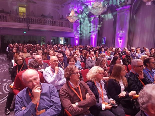 Les adhérents lors des séances plénières du congrès Selectour à Québec - Photo CE
