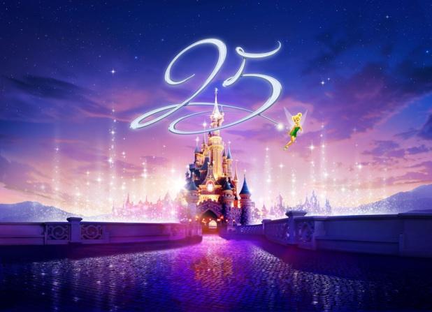 Pour son 25e anniversaire, Disneyland Paris  prépare beaucoup de surprises et de nouveautés - DR : Disneyland Paris