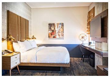 L'hôtel Watermark de Baton Rouge compte 144 chambres - Photo : Marriott