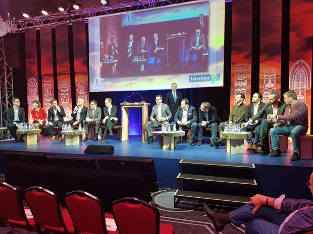 Les fournisseurs répondaient aux questions directes de la salle lors du congrès Selectour à Québec - DR