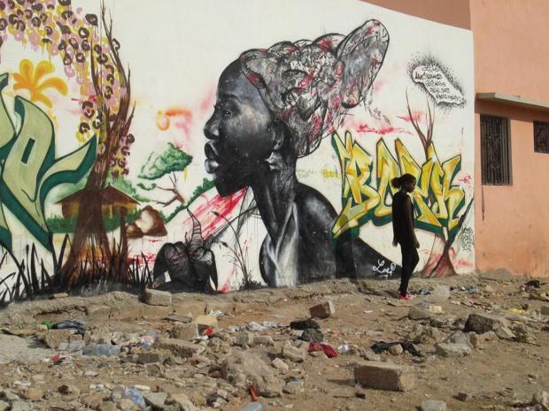 L'art est dans la rue - M.S.
