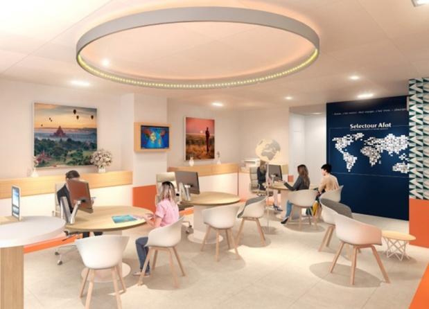 Le nouveau concept d'agence Selectour présenté lors du Congrès à Québec - Photo DR