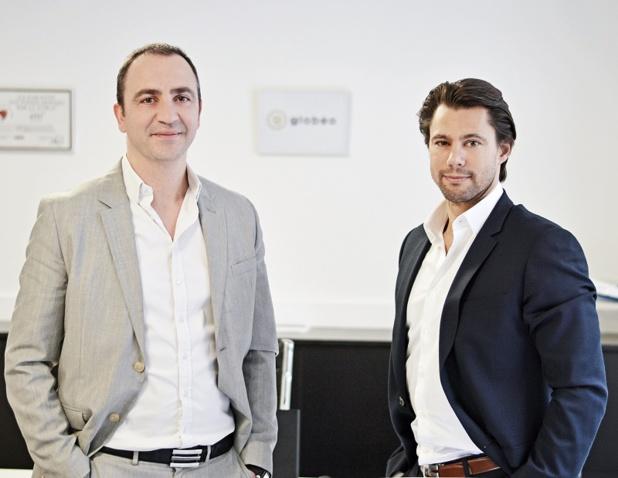 Grégory Mavoian et Laurent Brillant, fondateurs de Globéo Travel, ouvrent une deuxième structure à Nantes et recrutent une vingtaine de personnes - DR : Globéo Travel