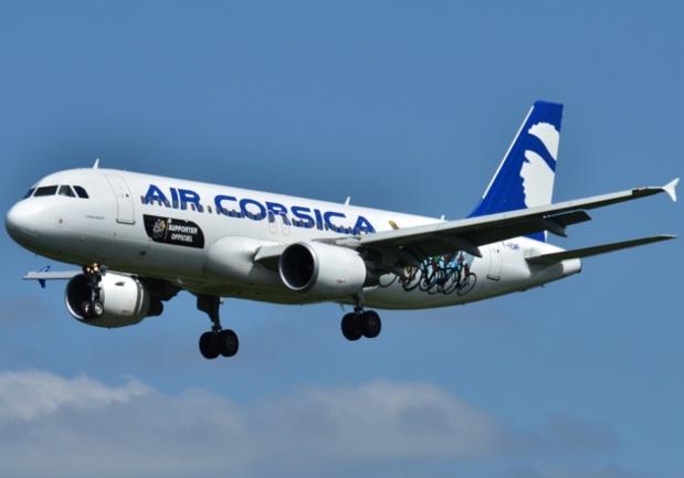Air Corsica opérera dès cet hiver un vol vers Paris Charles de Gaulle depuis Bastia et Ajaccio pour connecter avec le réseau international d'Air France - DR : Air Corsica