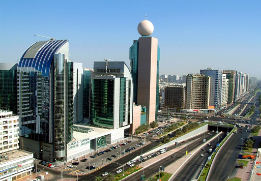 Vue de la ville d'Abu Dhabi - Copyright ADTA