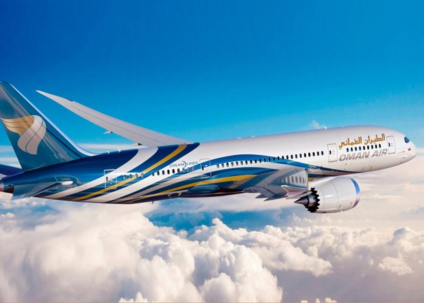 Le nouveau B787 d'Oman Air mis sur la ligne Paris-Mascate - Photo Oman Air
