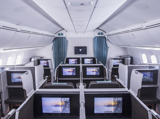 La classe affaires d'Oman Air - Photo Oman Air