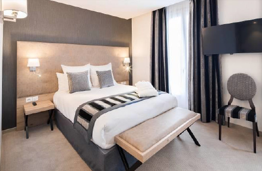 Le Best Western Plus Rive Droite & Spa compte 31 chambres - Photo : Best Western