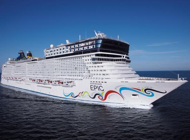 Le Norwegian Epic est l'un des 14 navires de la flotte de Norwegian Cruise Line - Photo : Norwegian Cruise Line