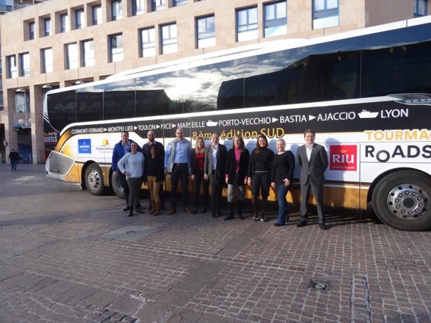 Dix partenaires ont répondu présents pour la 8e édition du TourMaG & Co Roadshow - Photo : DR