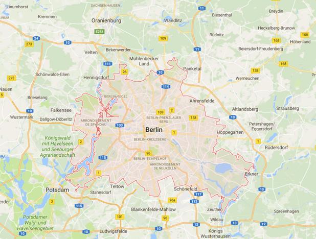 Le marché de Noël est situé dans le centre ville de Berlin - DR