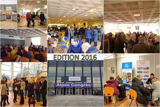 Le 5e Salon des Voyages, initiée par le groupe Perraud, se tiendra sur le site Alpes Congrès / Alpexpo, à Grenoble, le 19 janvier 2017 - DR : Perraud