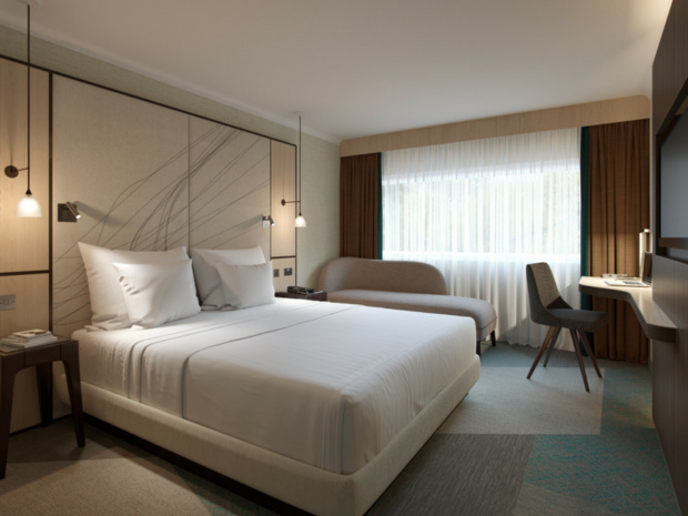 King guest room - DR : Hyatt Place