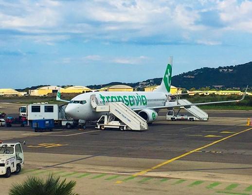 Malgré la grève d'une partie de ses pilotes, aucun avion de Transavia ne devrait rester cloué au sol samedi 24 décembre 2016 - Photo : Photo : Transavia/Instagram