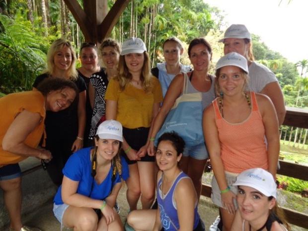10 agents de voyages en éductour en Martinique avec Corsair et les hôtels Karibea - DR