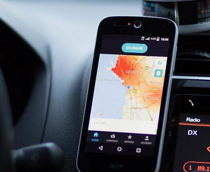 Les chauffeurs demandent notamment à Uber de réduire la commission appliquée sur leurs courses - Photo : Uber