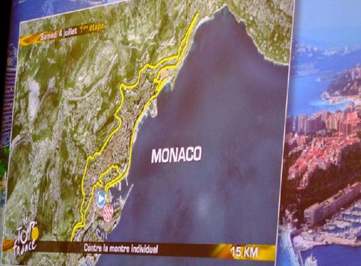 Le Tour de France devrait doper l'image touristique de la Principauté