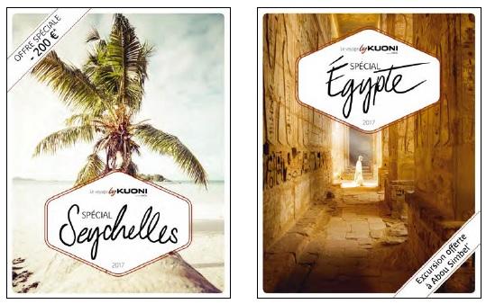 Offres spéciales sur les Seychelles et l'Egypte - DR Kuoni