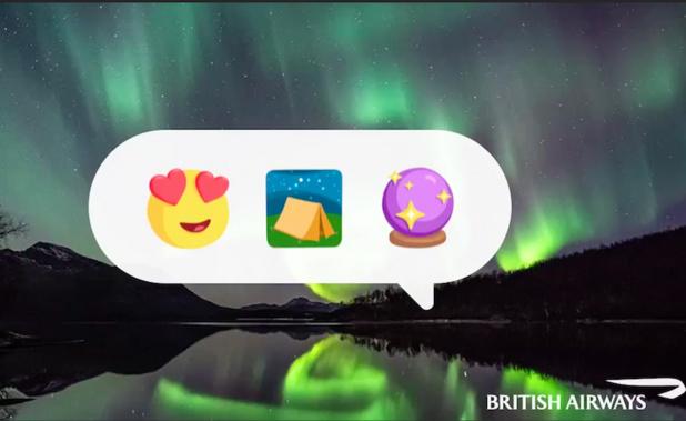 La compagnie British Airways a développé une nouvelle campagne promotionnelle en misant sur le digital (c) capture British Airways