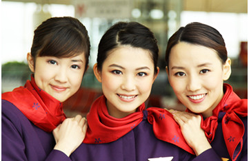 Les hôtesses de l'air de Hong Kong Airlines - Photo Hong Kong Airlines