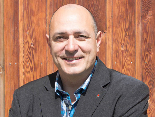 Xavier Feuillant, directeur de l'office de tourisme de la Plagne