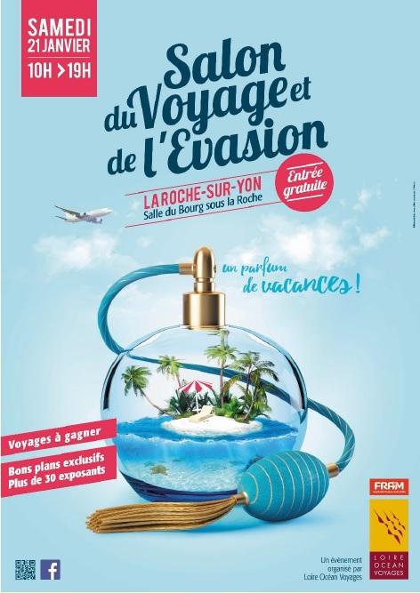 L'affiche du Salon du Voyage et de l'Evasion - DR