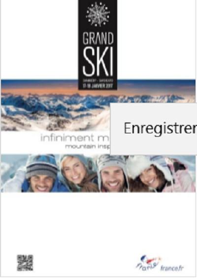 Grand Ski : 26e édition les 17 et 18 janvier 2017