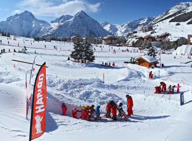 """""""Plusieurs générations d'exploitants se succèderont avant que les effets du changement climatique n'aient un impact significatif sur la capacité à offrir du ski en montagne""""- DR : B.LONGO / OT Les 2 Alpes"""