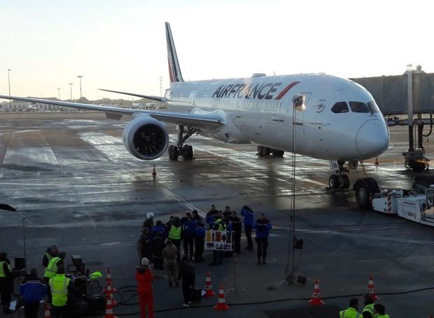 Le nouveau Dreamliner d'Air France - Photo CH
