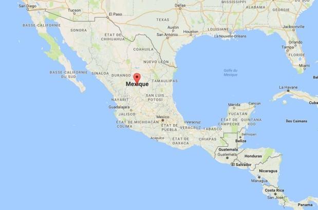 Le Mexique connait des troubles selon le Quai d'Orsay en raison de l'augmentation du prix du carburant - Google Map