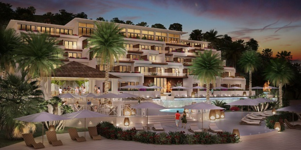 Le Kimpton Kawana Bay Resort proposera 146 chambres et suites - DR : Kimpton Hotels & Restaurants