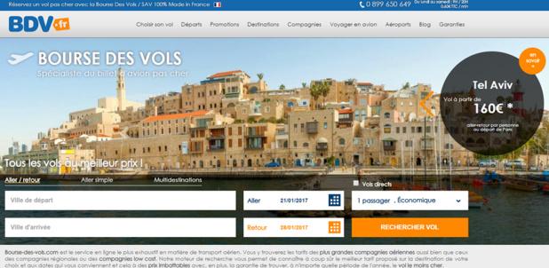 Bourse des Vols dévoile les résultats de son Focus 2016 - Capture d'écran