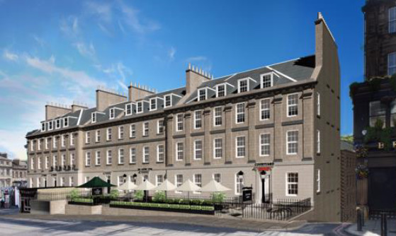 Le nouvel hôtel Courtyard d'Edimbourg propose 240 chambres - Photo : Marriott International